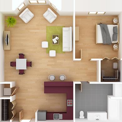 Craft-NYC LLC Interior Layout